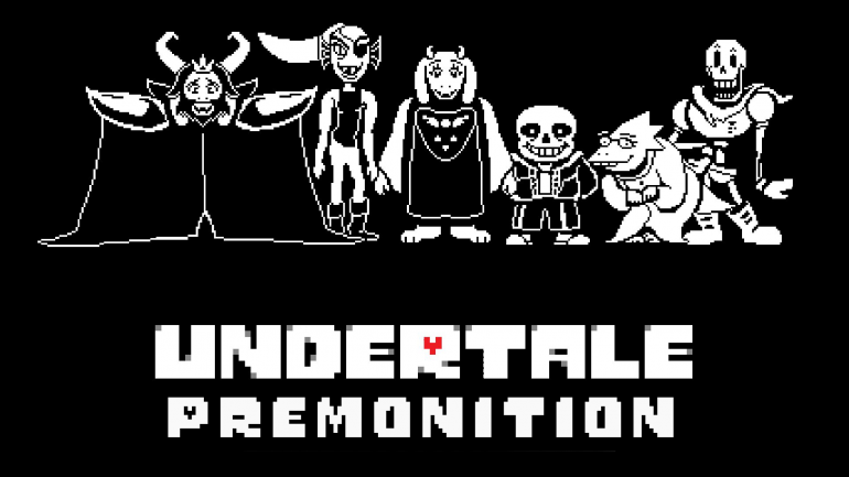Undertale Premonition Virtual Piano Sheets
